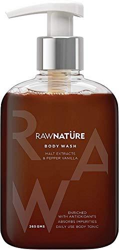 Glamorous Hub Raw Nature Jabón corporal con extracto de malta y pimienta y vainilla 265g