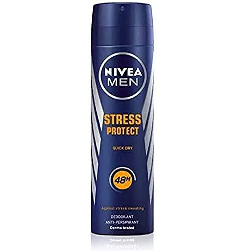 Nivea Men Stress Protect Spray Quick Dry, Desodorante Antitranspirante, 200ml