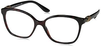 Versace Versase VE3235B 989 54 Red Havana Woman Square Eyeglasses