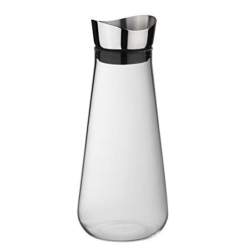 Kela Wasserkaraffe aus Glas, 1,3 L, Fontana, 12416