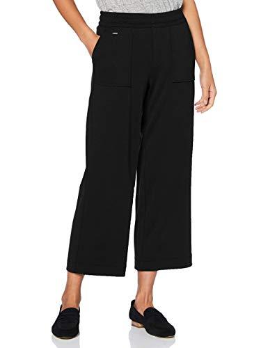 Street One Damen 373349 Cargohose Style Emee Loose Fit Hose, Black, W40/L26