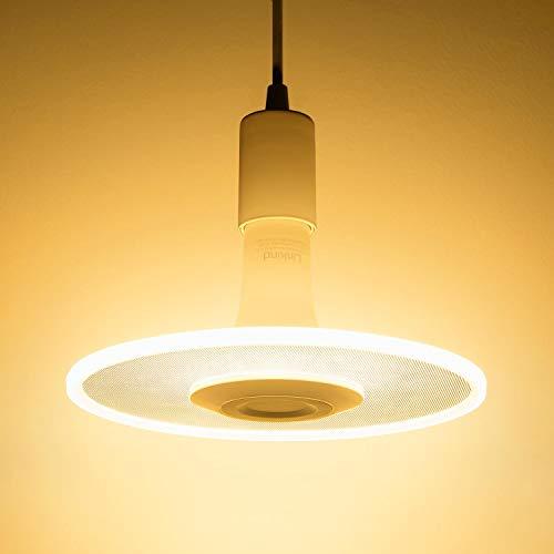 Sternwolk LED Pendel Leuchte Set, Linkind 11W Lampebirne(Kabel-Fassung inkl.) 1100lm warmweiß Hängende Beleuchtung, Geeignet für E27 Fassung, ideal Designerlampe für Küche