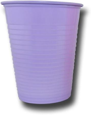 Unbekannt Plastikbecher farbig 50//100 St/ück Blau, 50