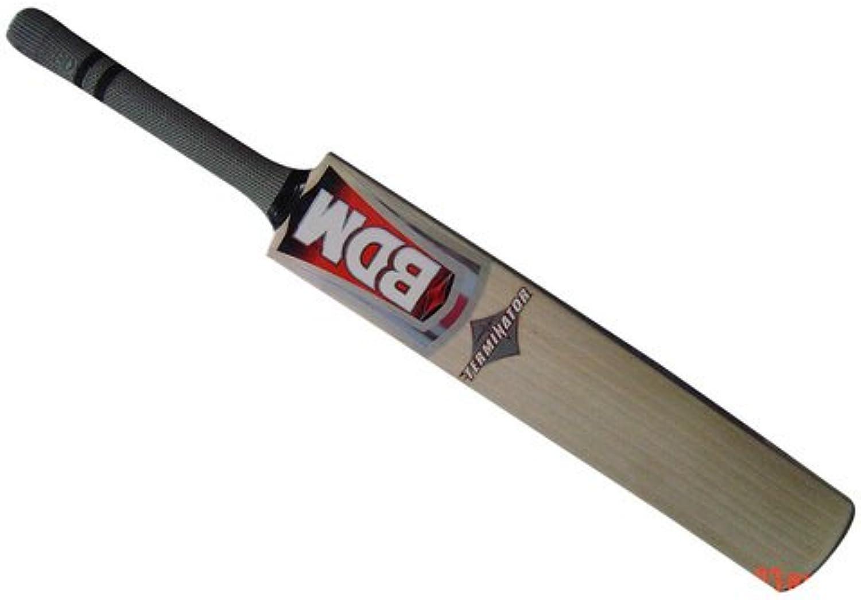 Bdm English Willow Terminator Cricket BAT Short Handle