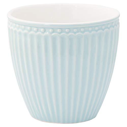 GreenGate - Kaffeetasse - Latte Cup - Becher - Alice - Pale Blue - Porzellan