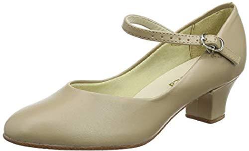 So Danca Women s Tap Dancing Shoes  Beige Tan  35/36