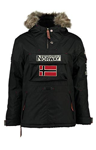 Geographical Norway Parka BOOMERANG hombre NEGRO talla S