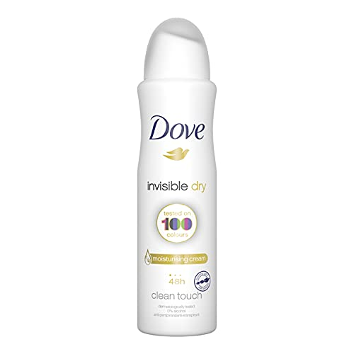 Dove Dry Spray Antiperspirant 48 hours, (Invisible Dry) Revive, 10.0 Ounce (Pack of 2)