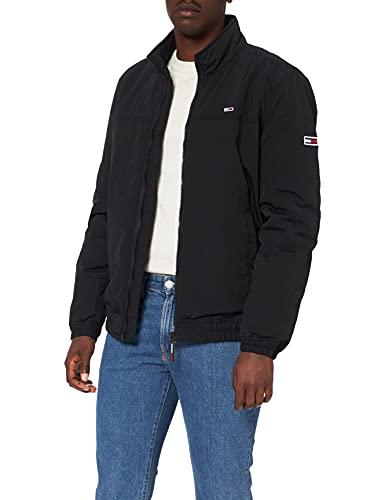 Tommy Jeans Herren TJM Essential Padded Jacket Jacke, Schwarz, XL