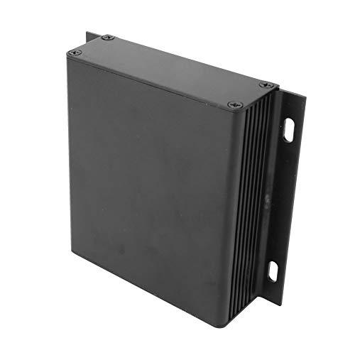 Caja de refrigeración de aluminio de tipo integrado, carcasa protectora de proyecto, cepillado para el cableado de la placa de circuito impreso de GPS del controlador