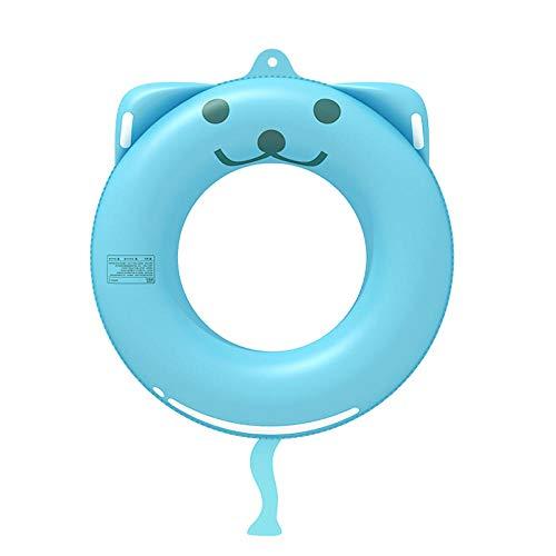 WZXHN Cartoon Animal Shaped Kids Aufblasbarer Schwimmring Kids Adult Schwimmring Pool Tube Schwimmkreis Pool Spielzeug 70cm-Auto