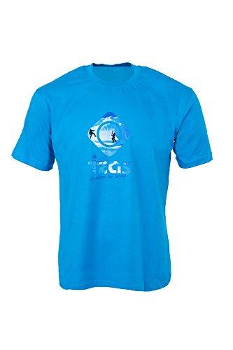 IZAS FELIU T-Shirt à Manches Courtes Homme, Turquoise, FR : M (Taille Fabricant : M)