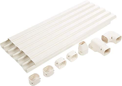 Senville SENLC-6M 20 Ft. Decorative Line Set Cover Kit for Mini Split Air Conditioners 3\