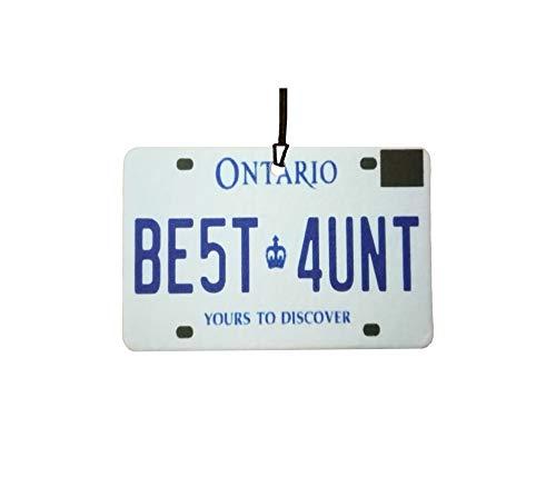 Ali Air Freshener Ontario - Best Aunt Nummernschild Auto Lufterfrischer