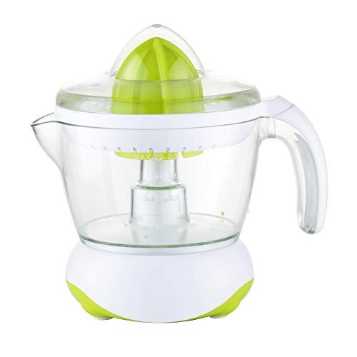 Exprimidor eléctrico de naranjas para zumo Family Care, jarra libre de BPA con 700ml, boquilla antigoteo, accesorios desmontables apto para lavavajillas, potencia 40W