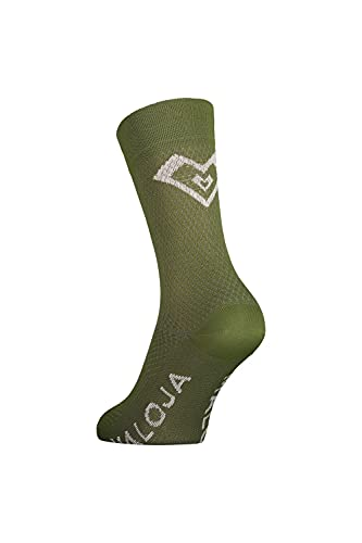 Maloja W Waldsauerkleem. Socken Grün, Damen Laufsocken, Größe EU 36-38 - Farbe Moss
