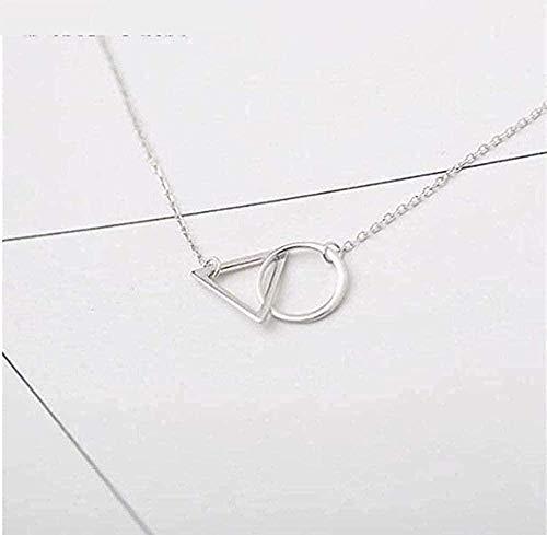 NC190 Collar Triangular Minimalista para Mujer