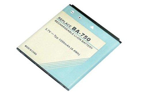 Li-ion 3,70 V 1200 mAh batería de repuesto para SONY BA750, SONY...