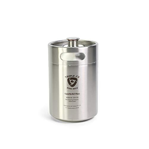 Mini barril de acero inoxidable de 5 l 304 (174 mm x 280 mm)