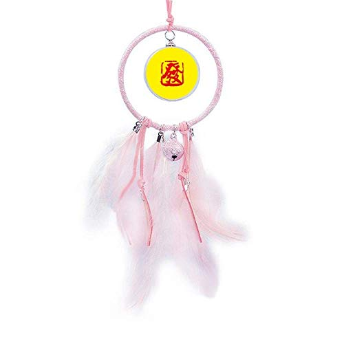OFFbb-USA Seal Emitido Antiguo Chino Make Fortune Atrapasueños Pequeño Bell Decoración de Dormitorio