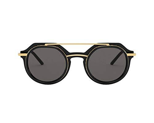 Dolce & Gabbana gafas de sol DG6136 501/87 Negro gris tamaño de 48 mm de Hombre