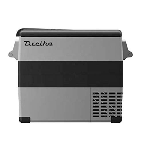 Dreiha CBX55 - Nevera Portátil con Compresor LG, CoolingBox 55, Conexiones 12V / 24V 0 110V/ 220V, Enfriamiento de -20ºC a +20ºC. Incluye Cesta Removible