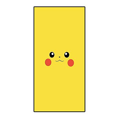 Amacigana Toallas de playa Pikachu, toalla de viaje de secado rápido y compacta, tacto súper suave, 100% poliéster, perfecto para el hogar, playa y piscina (Pikachu4,70-140cm)