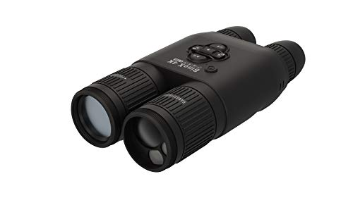 ATN BinoX 4K 4-16X Smart Day/Night Binoculars with Laser Range Finder, Full HD Video rec, WiFi, Smooth Zoom and Smartphone Controlling Thru iOS or Android Apps