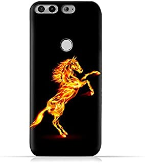 AMC Design Infinix Zero 5 X603 TPU Silicone Protective Case with Horse on Flame Design