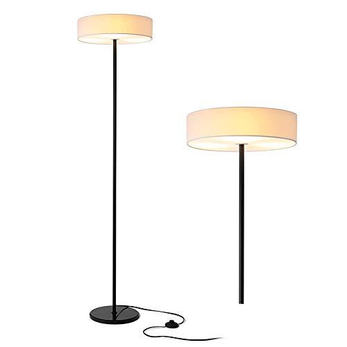 Zanflare LED Lampada da Terra, Lampada da Pavimento Soggiorno, Lampada Decorativa da Terra, Lampada Piantana, Lampada da Terra Classica per Soggiorno, Casa, Camera da Lettuo, Ufficio, ecc