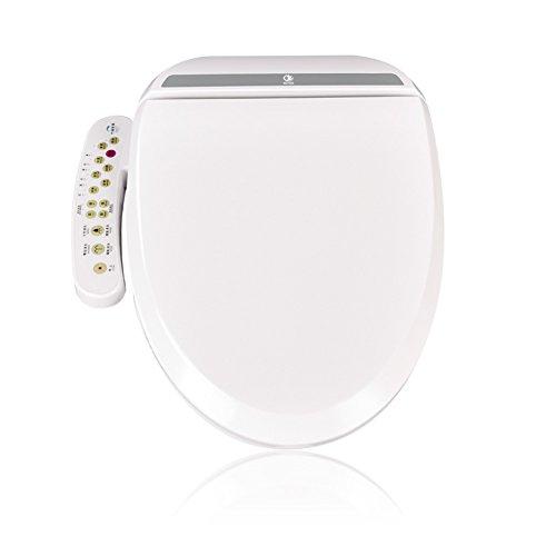 Tapa de WC Inteligente, calefacción eléctrica del asiento, secado inteligente del aire...