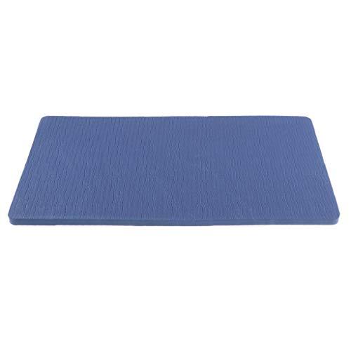 Sharplace 1 Pezzo di Tappetino per Yoga E Fitness Realizzato in Materiale Eva - Blu Scuro