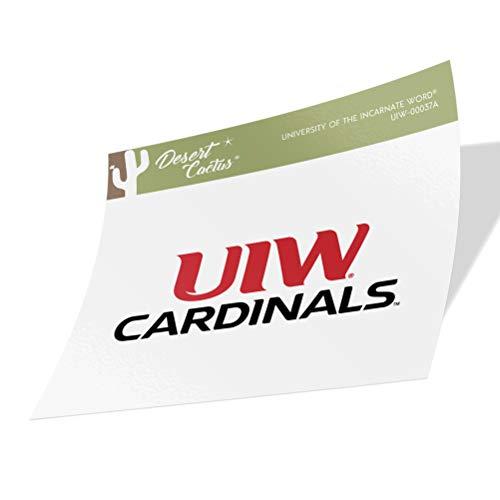 University of The Incarnate Word UIW Cardinals NCAA Vinyl Decal Laptop Water Bottle Car Scrapbook (Sticker - 00037A)