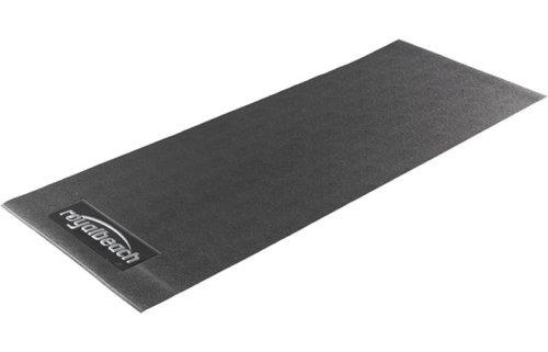 Royalbeach Unterlegsmatte Comfort für Crosstrainer, schwarz, 150 x 65 x 0,4 cm
