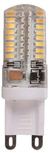 Lampadina LED G9 SMD 3014, 7 Watt, luce bianca fredda, non dimmerabile, 220 V, 64 LED