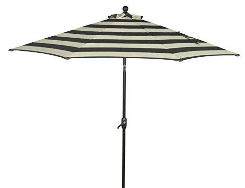 Better Homes & Gardens 9' Outdoor Patio Umbrella, Ibiza Stripe