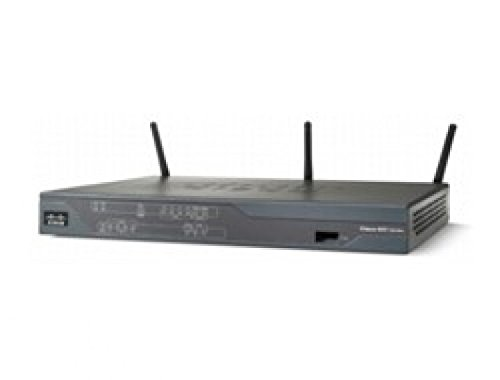 Cisco C881W-E-K9 - CISCO 881 ETH SEC ROUTER WITH - 802.11N ETSI COMPLIANT IN