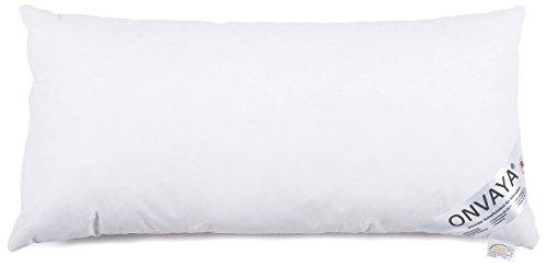ONVAYA Evolon® Premium Bettwaren | Bettenset in weiß | Bettzeug in verschiedenen Größen (Kopfkissen 40 x 80 cm)