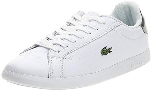 Lacoste 739SFA0015108_38, Zapatillas Mujer, Blanco, EU