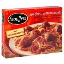 Nestle Stouffers Entree Spaghetti with Meatballs, 12.63...