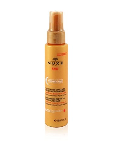 Huile capillaire protectrice hydratante
