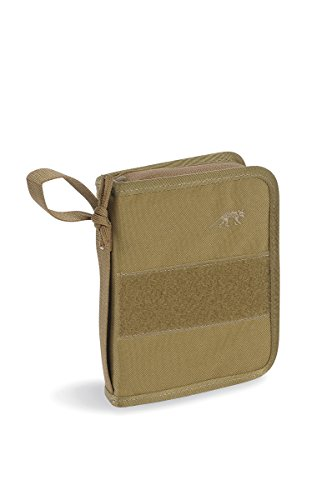 Tasmanian Tiger TT Tactical Fieldbook Carnet Sac, Mixte, TT Tactical Field Book, Kaki, 17x3x4cm