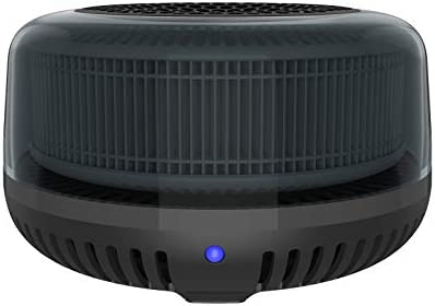 QUEENTY Air Purifier for Car HEPA Car Air Purifier with Activated Carbon Filter Mini Air Ionizer product image