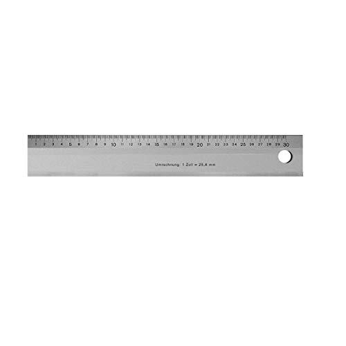 Helios Preisser 453430 Maßstab aus Aluminium, 600 mm