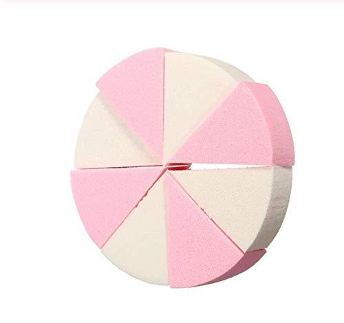 KUSAWE Éponge de maquillage 8 PCS/Pack Triangle en Forme De Bonbons Couleur Doux Visage Nettoyage Pad Puff Cosmétique Puff Propre Éponge Laver Le Visage Maquillage Éponge Q