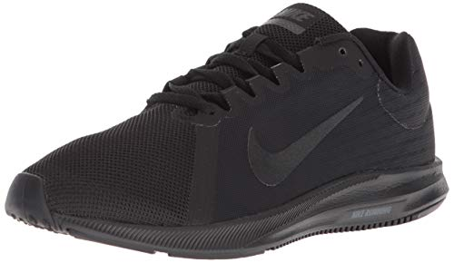 Nike Women's Downshifter 8 Sneaker, Black/Black-Anthracite, 11 Wide US