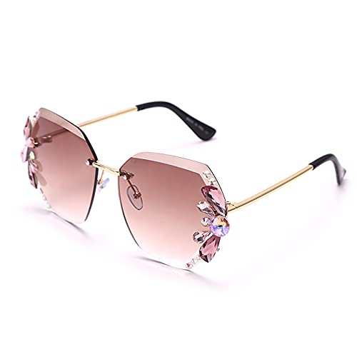 LUOXUEFEI Gafas De Sol Gafas De Sol Mujer Gafas De Sol De Gran Tamaño Gafas De Mujer