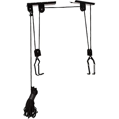 RAD Sportz Bicycle Hoist 4-Pack Quality Garage Storage Bike Lift with 100 lb Capacity Even Works as Ladder Lift Premium Quality