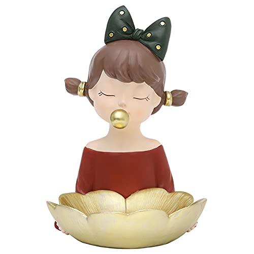 Plato De La Bandeja De La Joyería Decoración Nórdica Creativa Clave del Almacenamiento De La Fruta De La Joyería Decoración De Escritorio De La Sala De Estar Productos De Cumpleaños Y Bodas,A