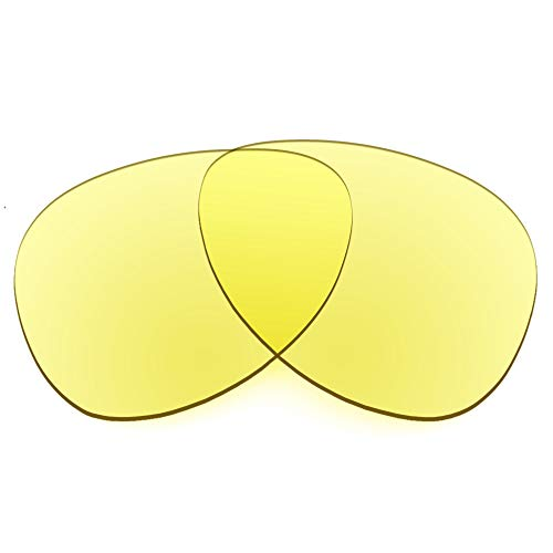 Revant Replacement Lenses Compatible With Spy Optic Whistler, Non-Polarized, Tracer Yellow
